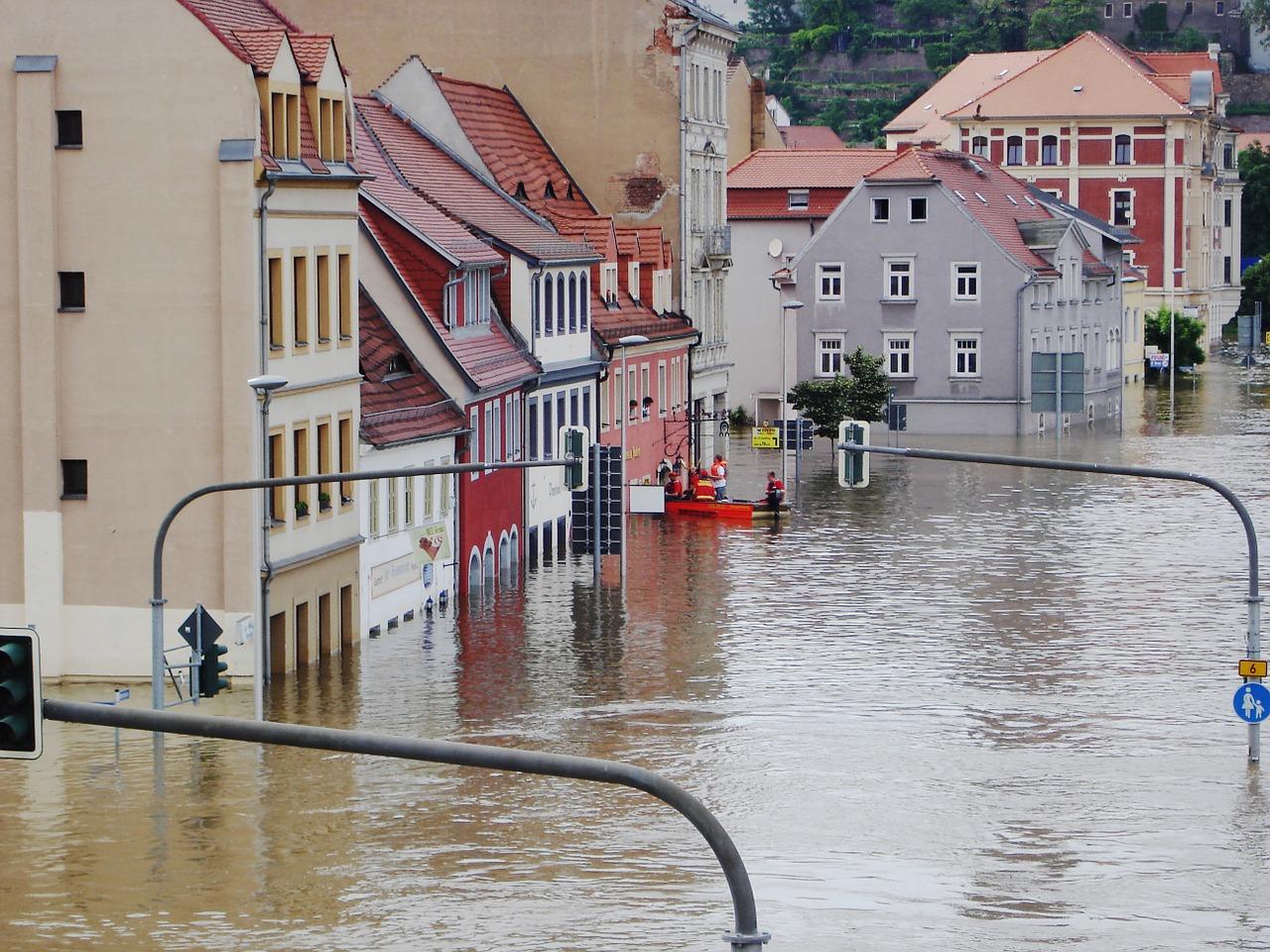 Hochwasser in Meißen